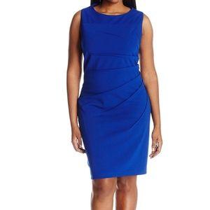 Calvin Klein - Regatta Blue Sunburst Dress - 8